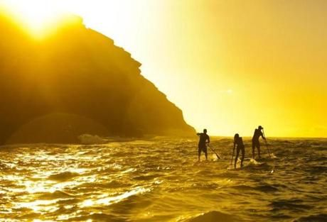 prime spots for stand-up paddle boarding