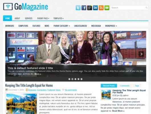 40 Up-to-date Free WordPress Magazine Themes