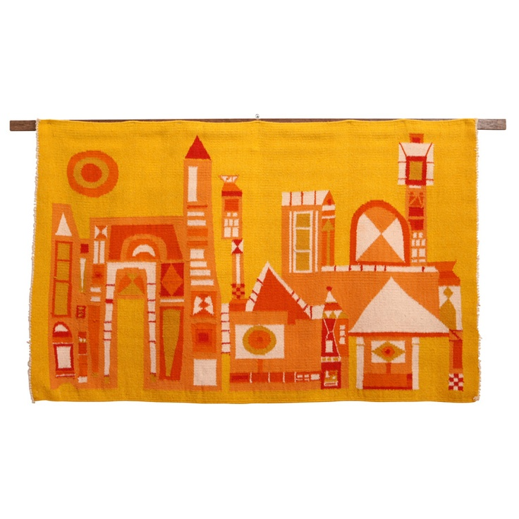 "Evelyn Ackerman ""Building"" Tapestries by Era Industries"