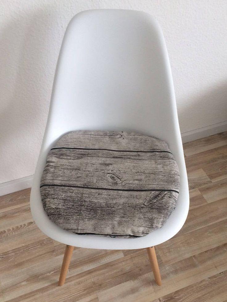 3 cm oder 6 cm holzoptik sitzkissen eames chair seatcushion mit reiverschluss von creativebeade auf etsy - Eames Chair Sitzkissen