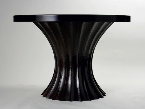 Robert Kuo Fluted Entry Table