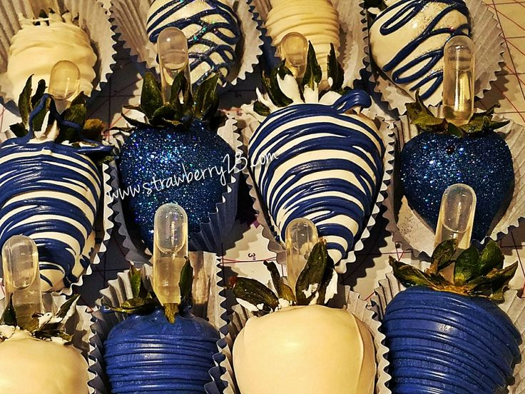 Blue is my favorite color!!!! Infused with Patron Gold!!!