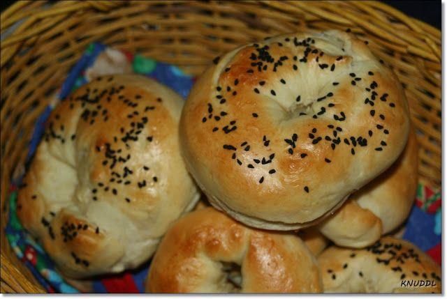 Was cookst Du heute: Türkisches Brot - Sesamring - zum Grillen - Simit