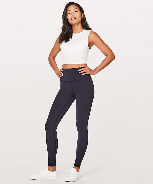 Allign Pant in Navy Size 8 *online only for full length