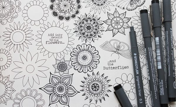 23 Best Images About Coloring Inspiration On Pinterest