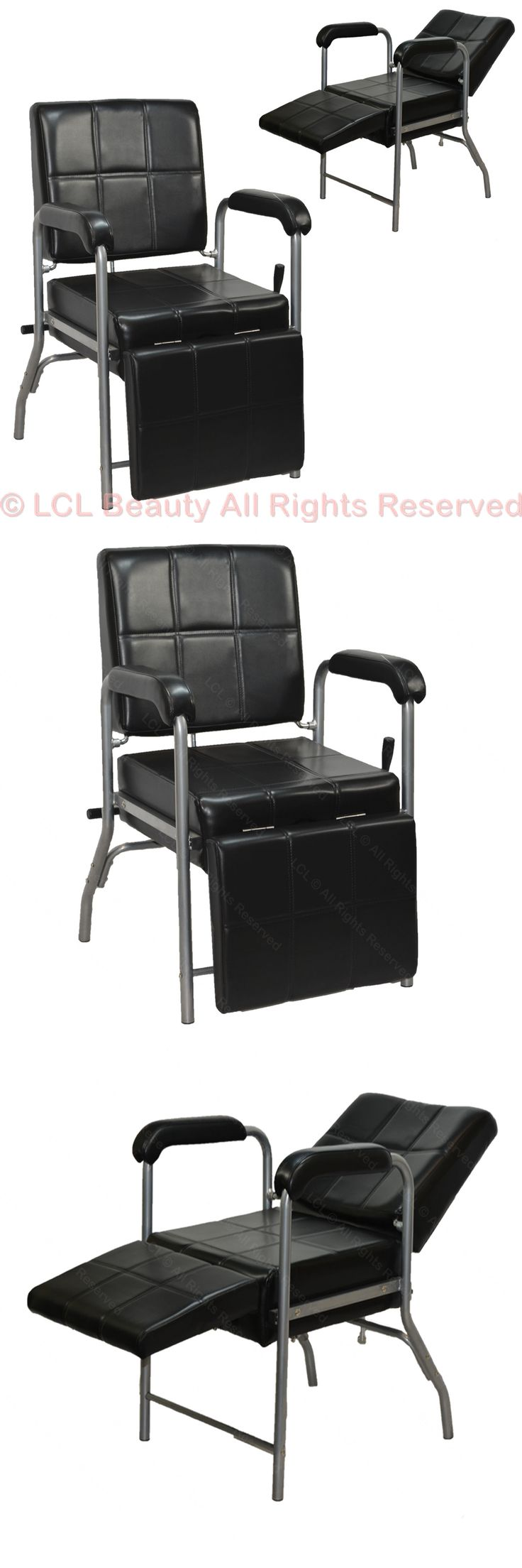 Backwash Units and Shampoo Bowls: Reclining Shampoo Chair With Adjustable Leg Rest Barber Beauty Salon Equipment -> BUY IT NOW ONLY: $124.88 on eBay!
