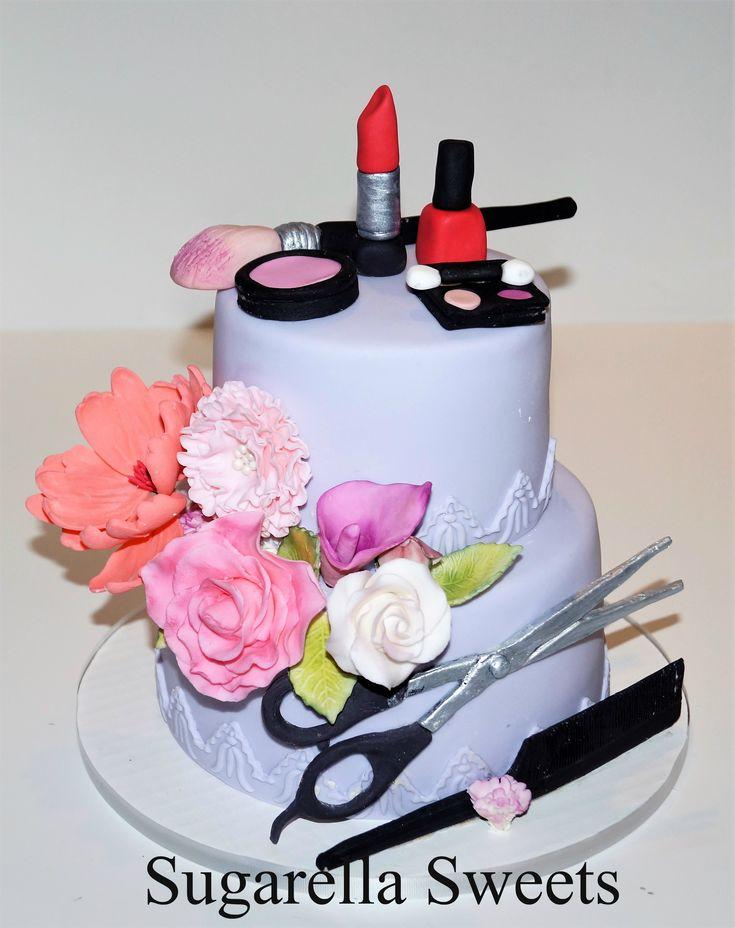 Makeup Cake Made By Liliana Da Silva From Sugarella Sweets