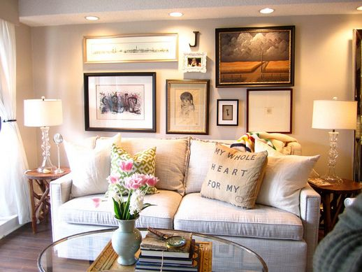 Jillian Harris Has Contributed My Love Of Photo Walls And Home Sense Pillows