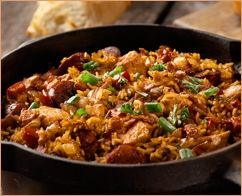 The Worlds Best Jambalaya Recipe! This Southern Cajun classic is a great warming dish - similar to paella, rice is the central ingredient here....