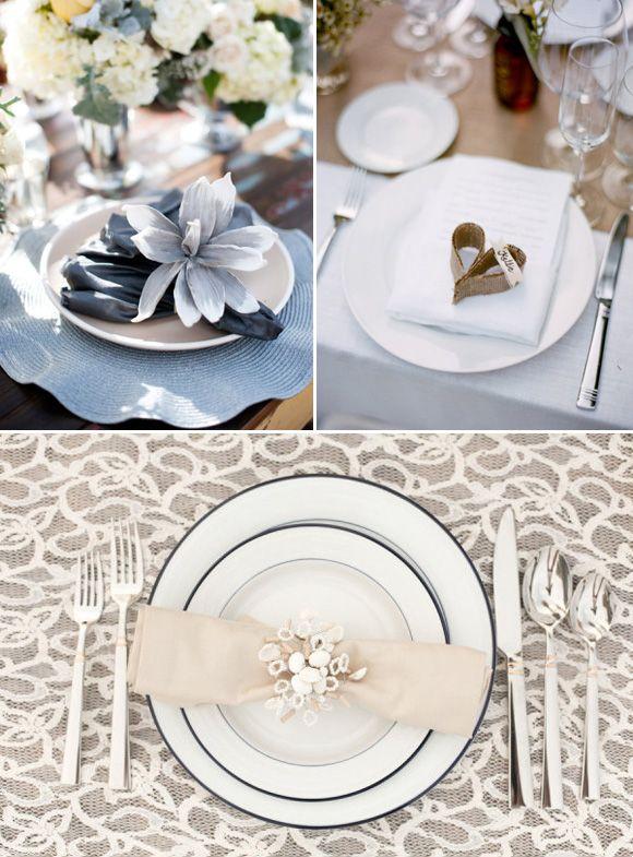 M s de 25 ideas incre bles sobre cubiertos de boda en - Decoracion marinera barata ...