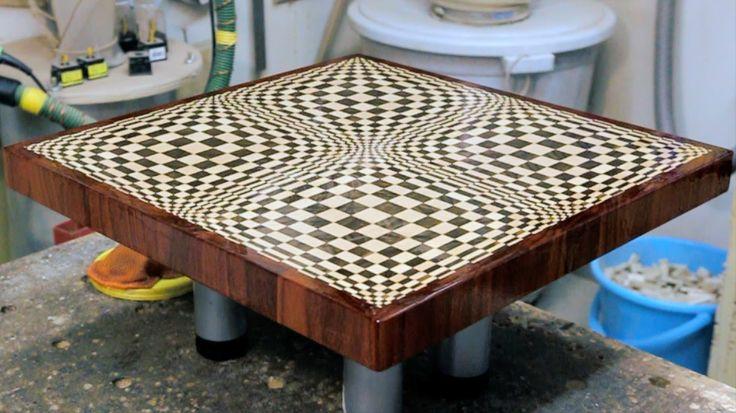 "Making a ""Butterfly"" 3D end grain cutting board"