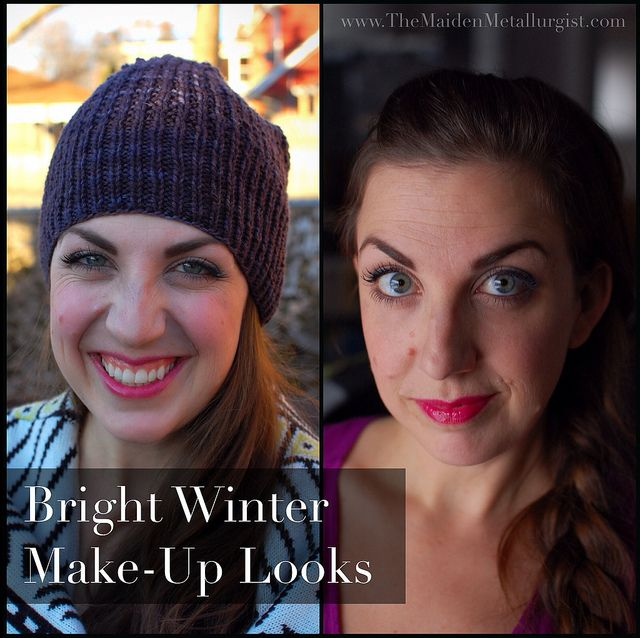 Bright Winter Make-Up Looks by themaidenmetallurgist, via Flickr
