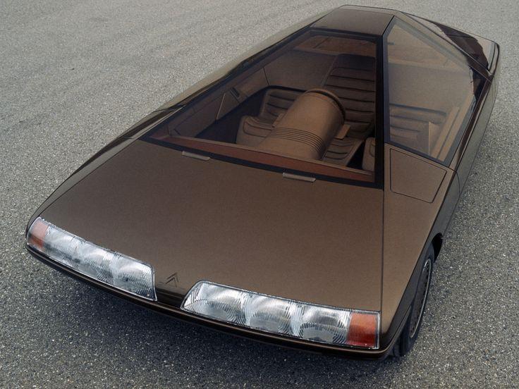 Citroën Karin concept car, 1980