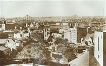 PANORAMA FROM WICKHAM TERRACE SHOWING STORY BRIDGE  * Popularity: Highly popular!  * Click for preview and more like this