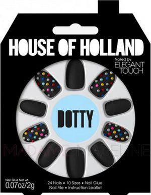 House Of Holland Nails By Elegant Touch - DOTTY