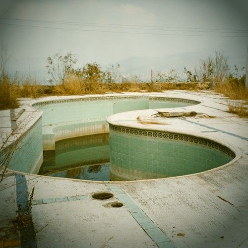 165 best images about abandoned pools on pinterest for What to do with old swimming pool