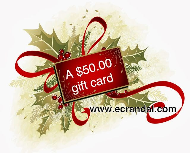 Montreal Confections: Day 2 of Christmas Giveaways! A $50 Ecrandal gift card