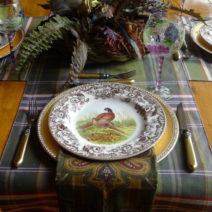 My Grandmother's Lace - Accessories - Table Linens Collection Plaid table linens…