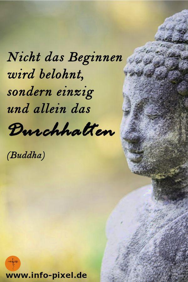 Buddha Zitate – Durchhalten wird belohnt | Achtsamkeit | Glück | Zufriedenheit