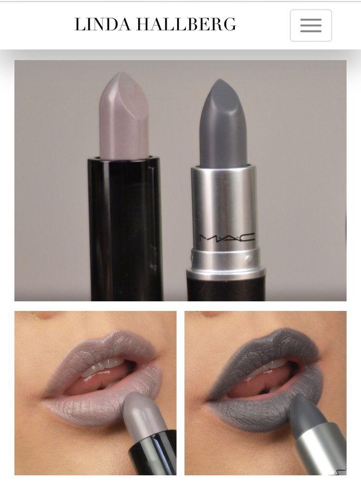 New in | grey lipsticks