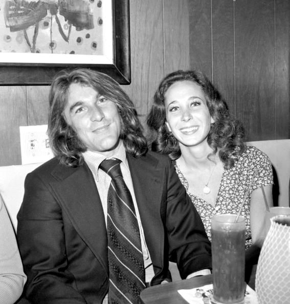 Dennis Wilson with wife Barbara, circa 1970 photo by Michael Ochs