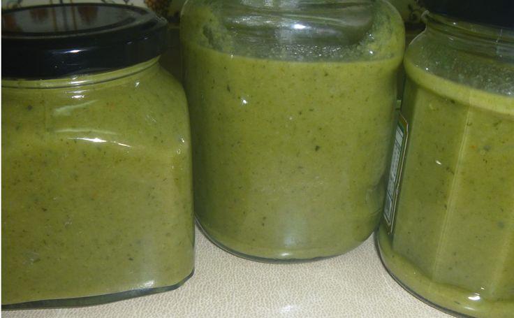 Sopas de vegetales Menú de Primavera