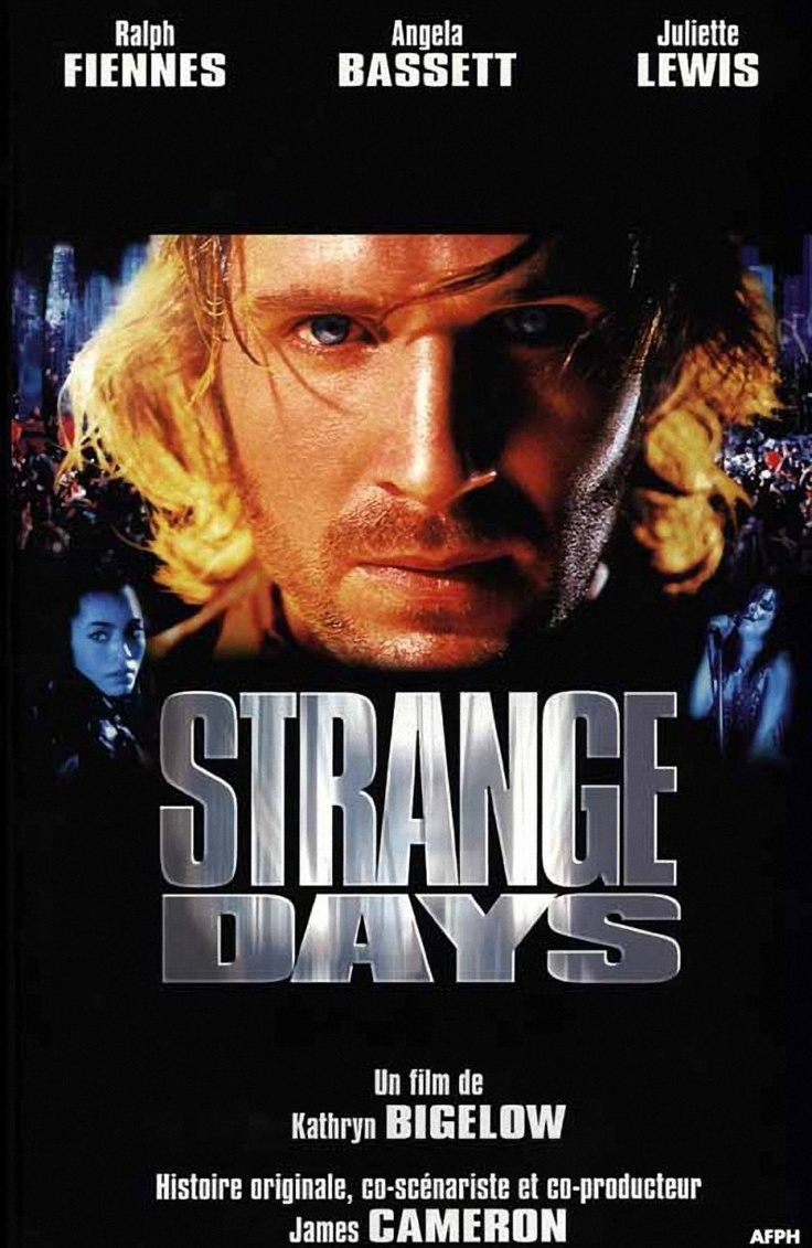 strange day This post discusses plot points throughout strange days, a movie released 20 years ago as the horror in roanoke unfolded last week a shooting on live television that quickly transformed into the world's first social media murderer, as the perpetrator uploaded first-person footage of.