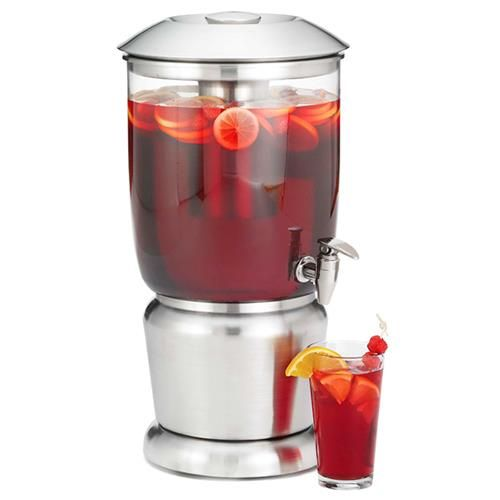 Ideal for self-service, the Single Beverage Dispenser offers a practical design with a contemporary look. Perfect for buffets, catered events and parties, this dispenser can be used to serve juice, cocktails and other cold beverages straight from the...
