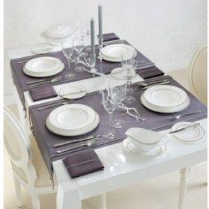 Новогодняя сервировка стола - Цветовые гаммы