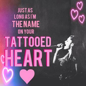 Tattooed Heart - Ariana Grande free piano sheet music and downloadable PDF.
