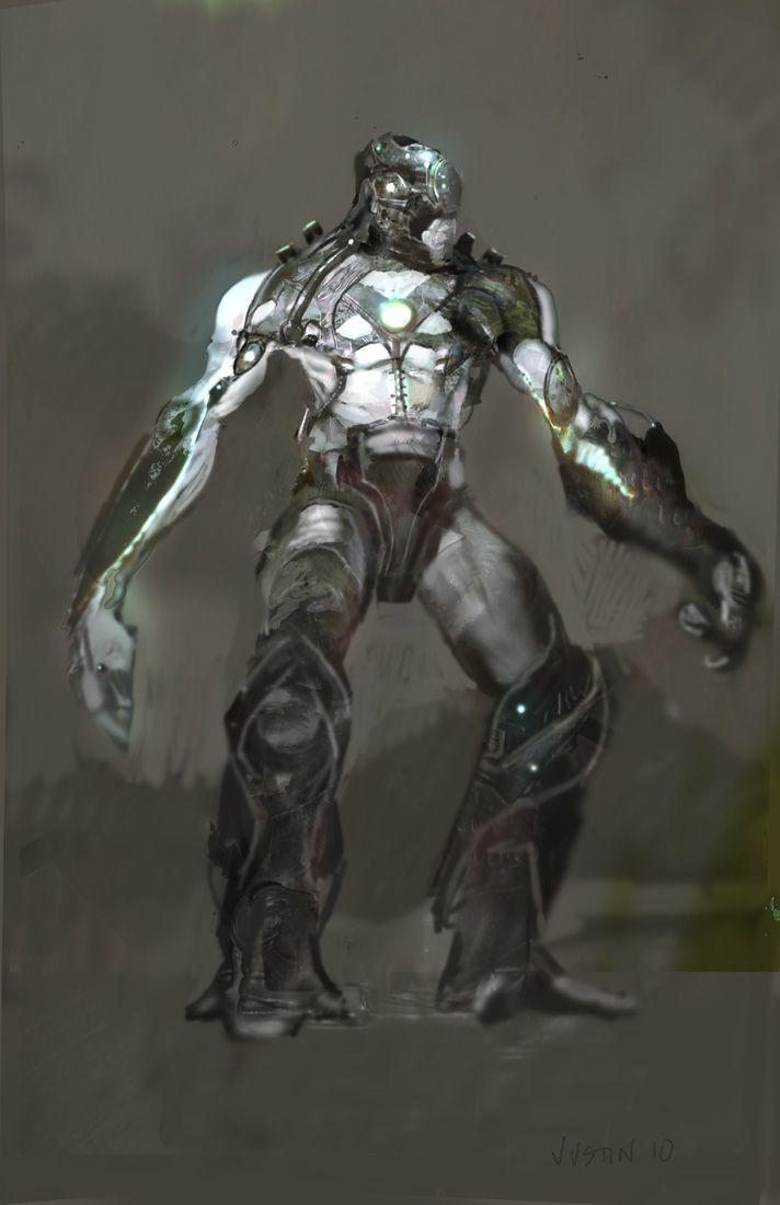 Avengers Concept Art Chitauri