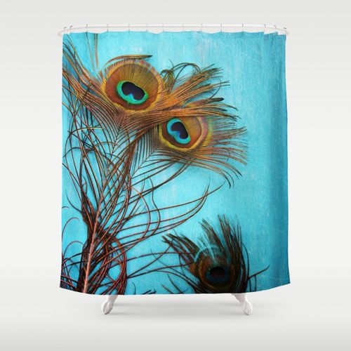 PEACOCK SHOWER CURTAINS