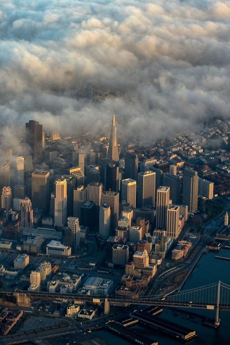 San Francisco Fog Map Live%0A   San Francisco Fog Monster   by Mike Hendren  Love that Frisco mist