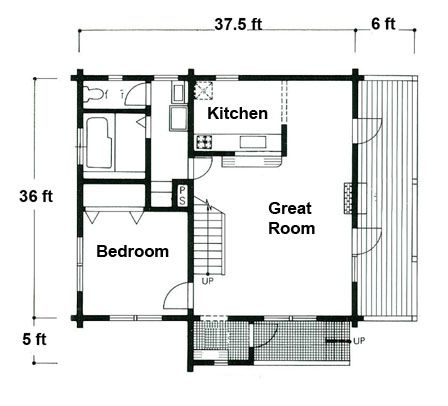 18 best ideas about cabin floor plans on pinterest small for Log siding house plans