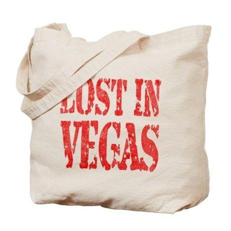 Lost In Vegas Tote Bag on CafePress.com #lostinvegas #bag