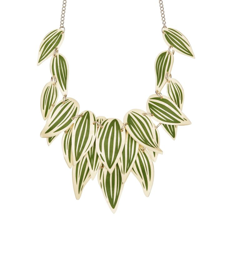 Limited Edition Still Life Plant Necklace