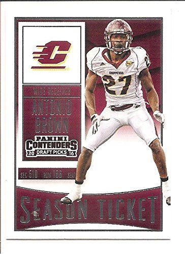Antonio Brown Pittsburgh Steelers 2015 Panini Contenders Draft Picks Season Ticket Football Card 10 >>> Want to know more, click on the image.