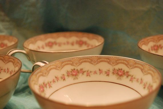 7 Noritake China Teacups