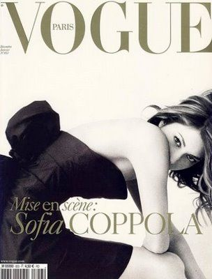 Sofia Coppola on the cover of Vogue Paris. Carine Rotfield is amazing