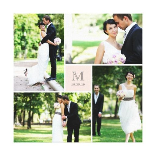 84 best Wedding Collage Wrapped Canvas images on Pinterest