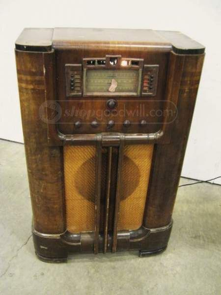 1938 Rca Victor 811k Vintage 3 Band Floor Radio In 2019