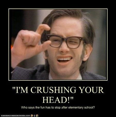 Kids in the hall squish your head