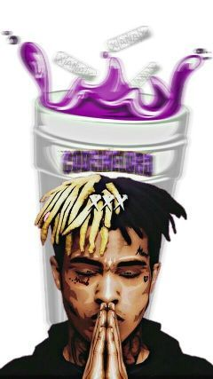 xxxtentacion trapmusic codeine purple drank freetoedit