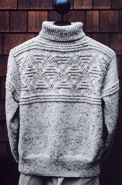 Ravelry: Diamond Turtleneck pattern by Mari Dembrow