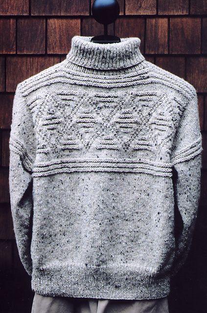 Ravelry: Diamond Turtleneck pattern by Mari Dembrow