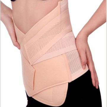 3in1 Postpartum Women Recovery Breathable Belly Elastic Waist Pelvis Belt Shapewear Slimming Body Support Band at Banggood