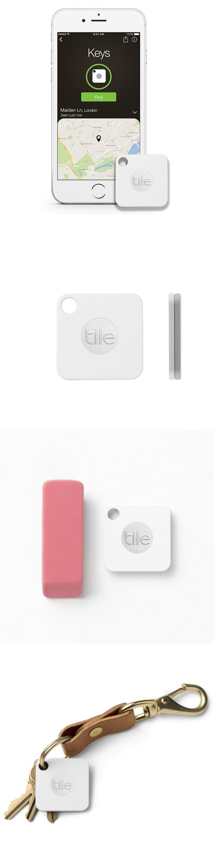 Tracking Devices: Cell Phone Gps Tracker Bluetooth Key Chain Tile Device Locator App Finder Pulse -> BUY IT NOW ONLY: $33.99 on eBay!