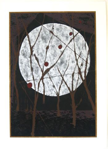 """yama-bato:  """" Taruho's Night  Yuichi Hasegawa 1997  here  Yuichi Hasegawa was born in Wakamatwsu city, Aizu. He was elected as one of the 8 artists for the 25th year anniversary of the Tolman Collection in 1997. He has extensive exhibition history such..."""