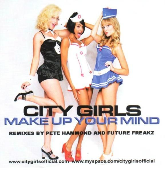 "City Girls - Make Up Your Mind (Pete Hammond) [Extended Retro-Mix 12''] 2009 €URO 80's ""La Radio del Ítalo Disco © 2011 - 2016 euro80s.net"