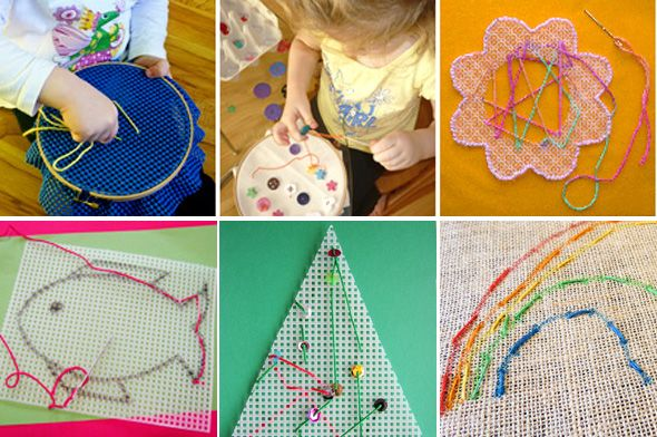 Homemade Gifts for Kids: Sewing Kit Love it!!!